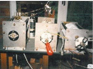 Parts of Radio Delmare SW tx (1986)